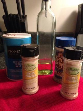 Aceite y condimentos oliva. Elige tus favoritos.