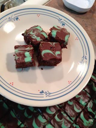 MUY Chocolaty con un fresco sabor menta Andes!