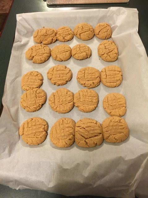 Cómo hacer muy fácil la mantequilla de cacahuete Galletas Receta