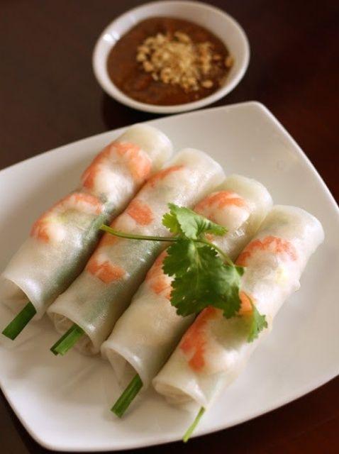 Cómo hacer vietnamita fresco Springroll