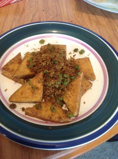 Cómo hacer vietnamita tofu frito con limón Receta