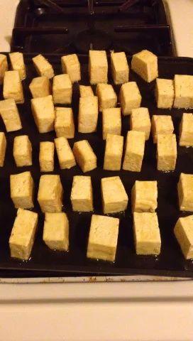 tofu sizzlin. recurrir a marrón 4 lados.