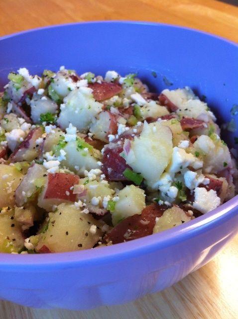Cómo hacer la patata caliente Ensalada Receta