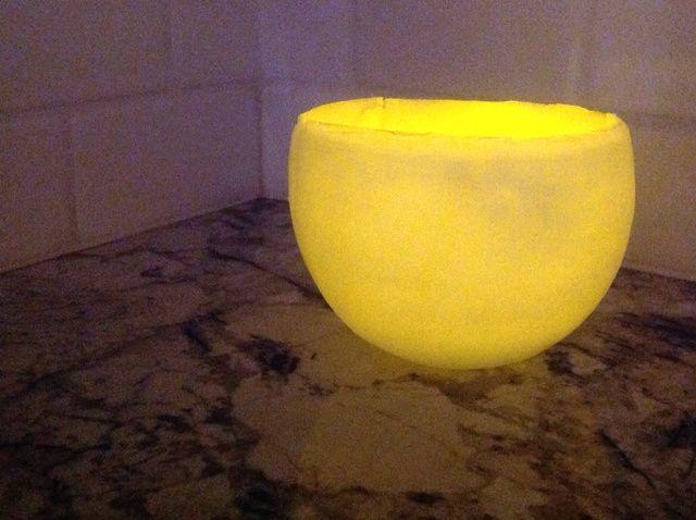 Cómo hacer globos de agua Luminarias