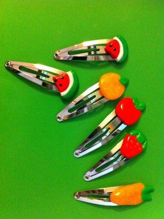 Usted también puede hacer otra pinhair fruta en varios colores.