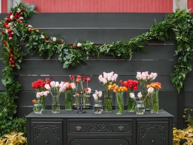 Fotografía - Cómo hacer guirnaldas de la boda con las flores