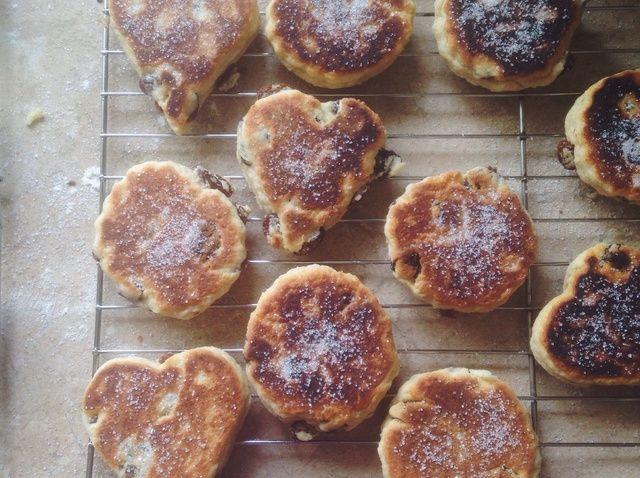 Cómo hacer tortas galesas Receta
