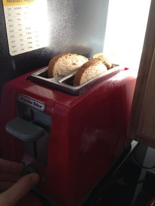 Ligeramente (importante) Tostadas tu pan