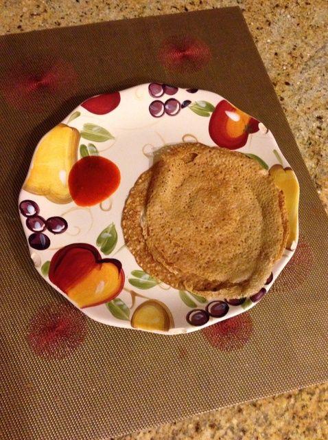 Cómo hacer Trigo Dosa (Thin trigo Pancake) Receta