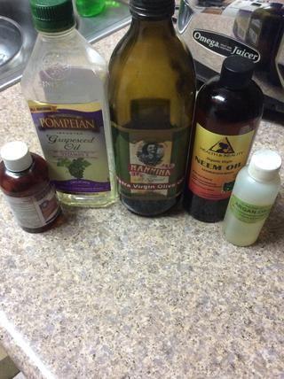 Los aceites que he usado. Lo que usted elige utilizar es totalmente su preferencia.