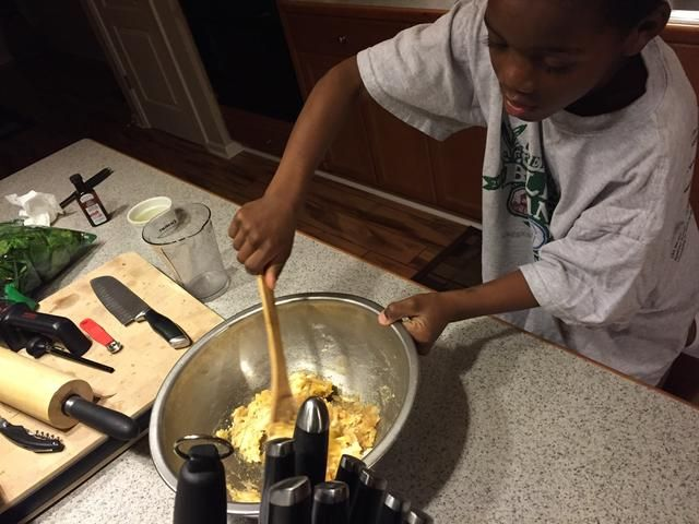 Tener una edad 7yr hacer la mezcla. ??????