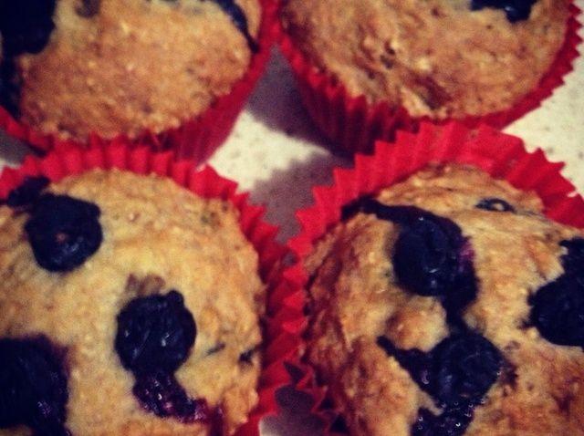 Cómo hacer Muffins integrales Banaberry! Receta