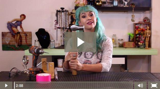 Cómo conectar la joyería envoltura | Me encanta este vídeo DIY para la fabricación de joyas de alambre por DiyReady en http://artesaniasdebricolaje.ru/how-to-make-wire-jewelry-wire-wrapping-tutorials