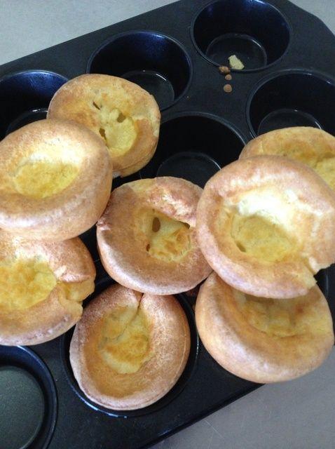 Cómo hacer Yorkshire pudines Receta