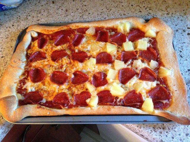 Cómo hacer tu receta Personalizar pizza hecha en casa