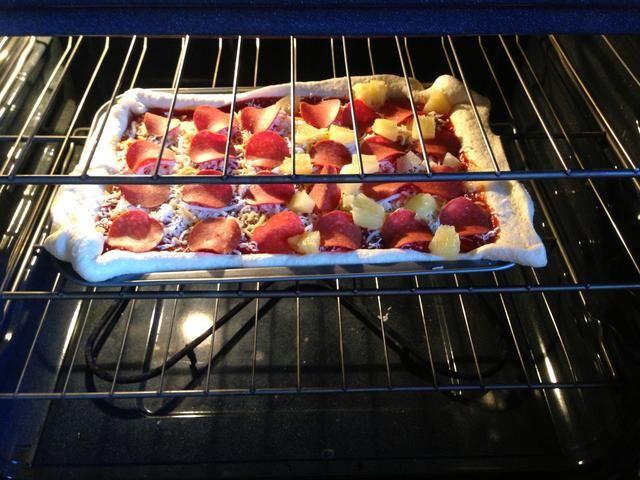 Poner en el horno durante 20 minutos.