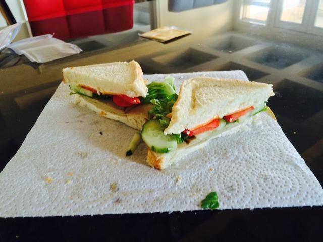 Entonces su ir usted hizo su sándwich favorito, espero les haya gustado esta guía, disfrutar!