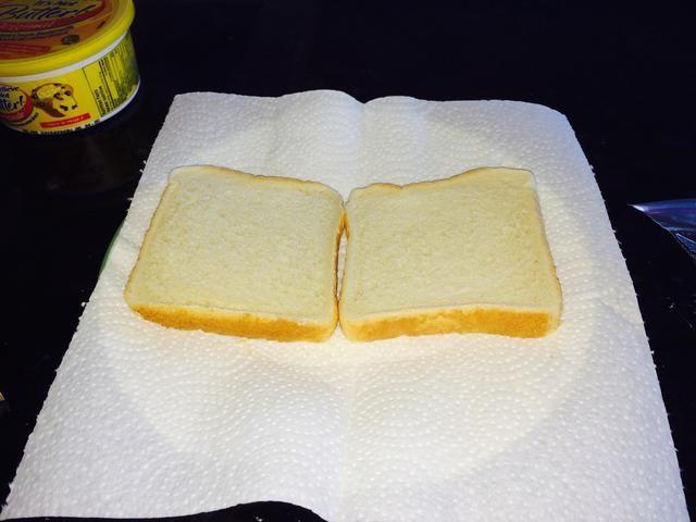 2 rebanadas de pan