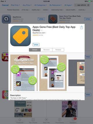 Encuentra las últimas aplicaciones gratuitas! (Aplicaciones ido libre por AppAdvice)