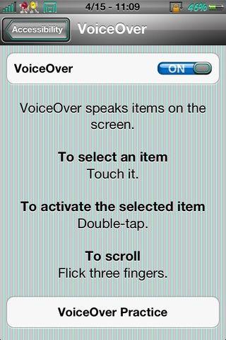 Encienda voz en off