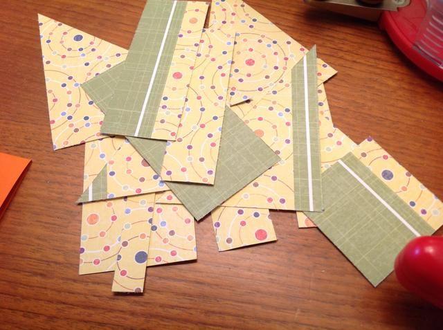 Si usted está haciendo 125 tarjetas, necesitará más de un pedazo de papel!