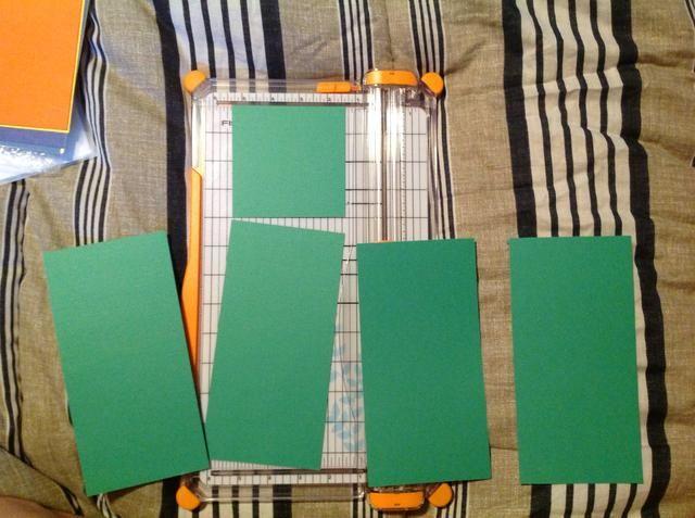 En resumen: un pedazo de papel le da 4 bases de tarjetas y un 4x4.