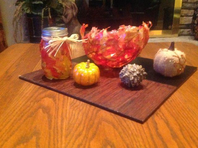 Cómo hacer sus propias decoraciones para el otoño