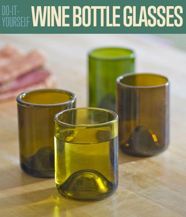 Fotografía - Cómo hacer tu propio Gafas Botella de vino de bricolaje