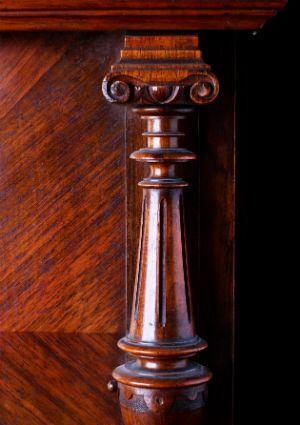 Hecho en casa Muebles polaco - Detalle del ornamento