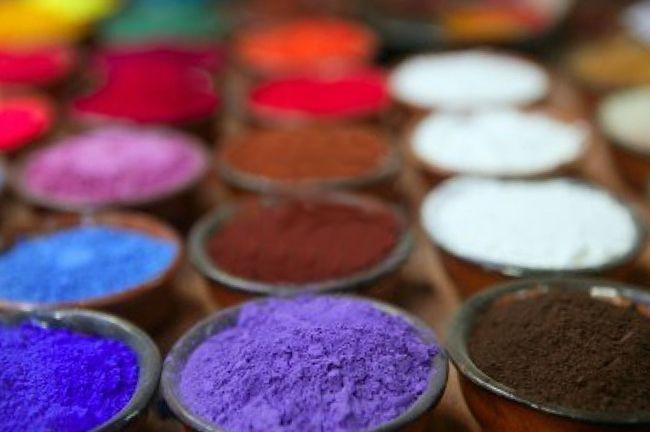 Leche Pintura Receta - Pigmentos