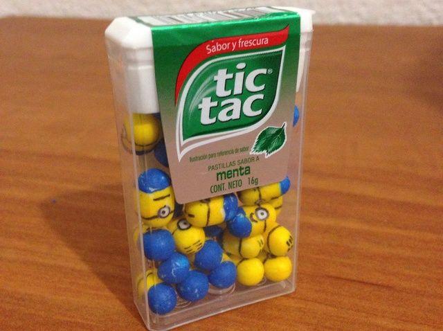 Cómo hacer tu propio Tic Tac Minions