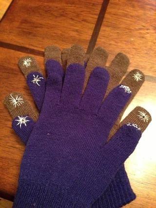 Disfrute de sus guantes de pantalla táctil!