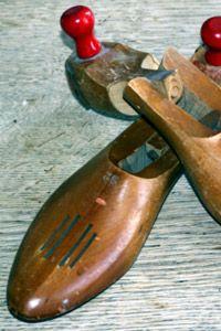 madera de zapato