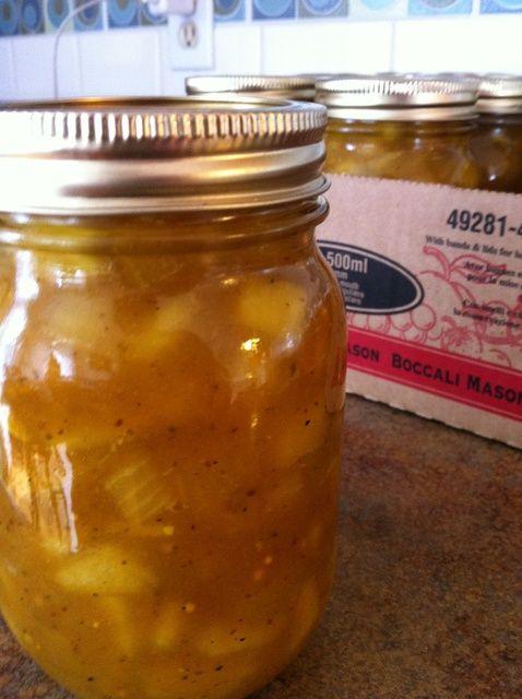 Cómo hacer deliciosa mostaza Pickles Receta