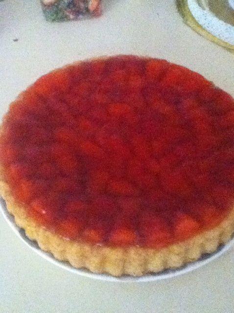 Cómo hacer deliciosa fresa Receta Flan
