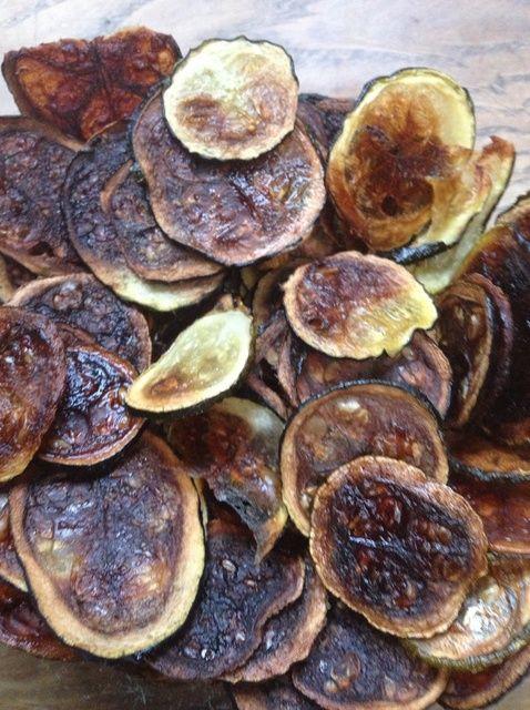 Cómo hacer calabacín fritas Receta