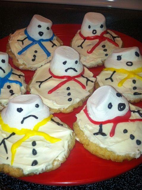 Cómo MakeMelting Snowman Receta de las galletas