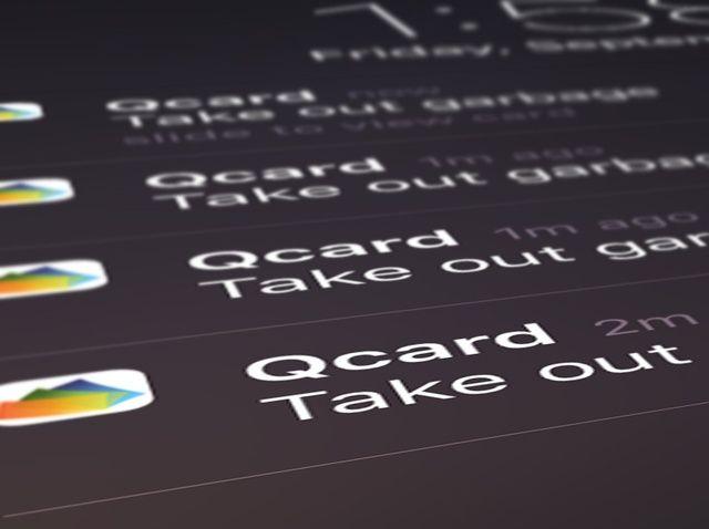 Cómo Administrar alertas en Qcard