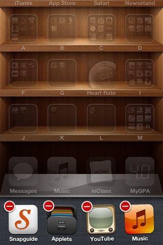 Una vez que esta pantalla está mostrando, toque y mantenga pulsado cualquier icono de la aplicación en ese menú. Un pequeño menú aparecerá, haga clic en el botón rojo para detener la aplicación se ejecute. Su duración de la batería ahora durará mucho más