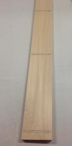 Aquí es cómo su pieza de madera debe ser similar una vez que haya marcado sus partes.