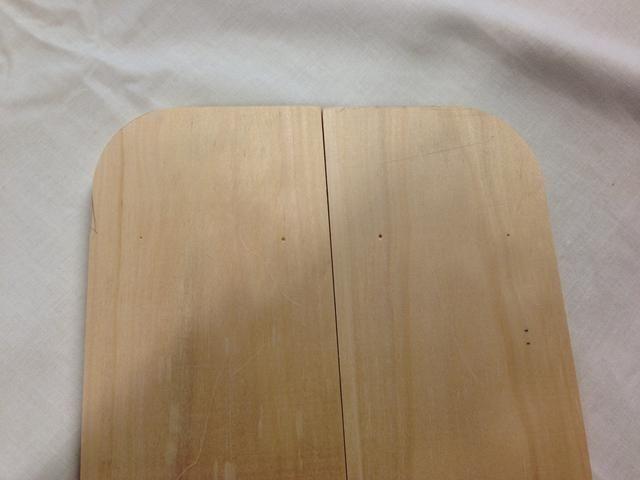 Así es como las piezas laterales muestran mirada una vez que haya presionado a sus pasadores en ellos.