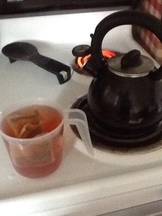 Mi vaso medidor mide 2 tazas, utilicé tres bolsitas de té!