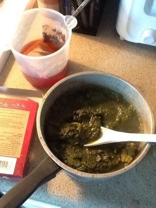 Mezclar en el té Zinger ... 2-3 tazas de ella.