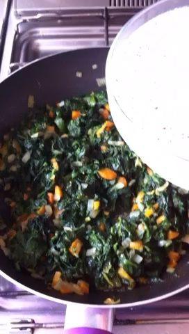 Añadir la pasta lechosa (a base de soja).
