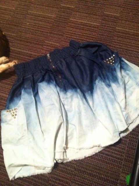Cómo ombre una falda linda del verano! ??????