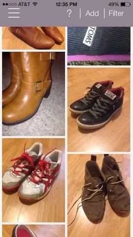 Y zapatos.
