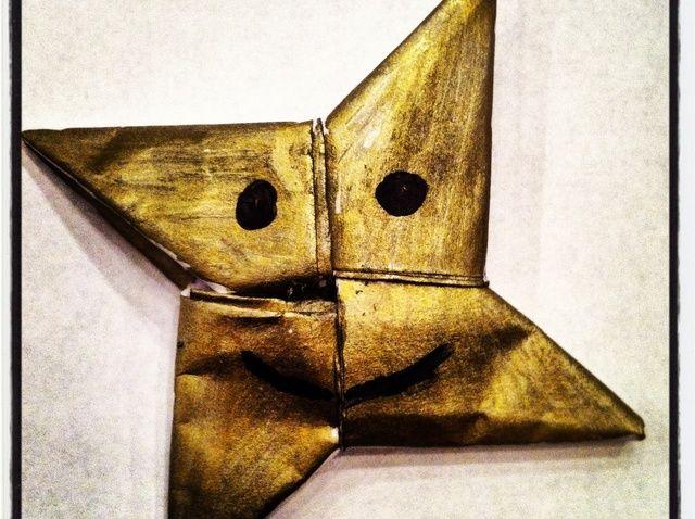 Cómo Origami Shuriken