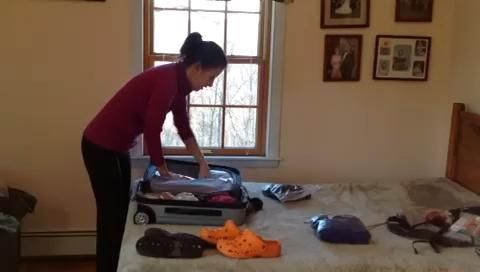 Con una planificación adecuada se puede empacar todo lo que necesita en una maleta de mano.