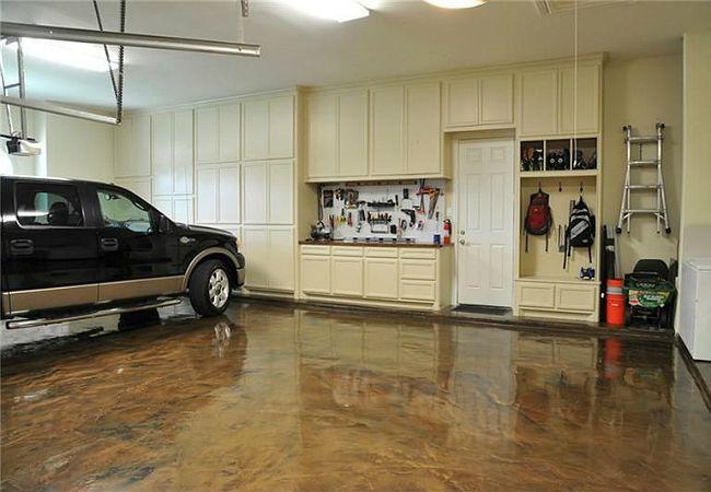 Fotografía - Cómo: Pintar un piso Garaje