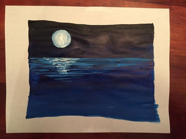 ¡Felicidades! Ha creado una pintura monocromática!